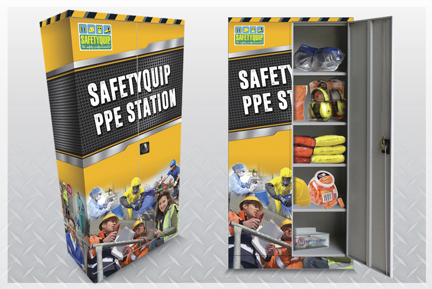 SafetyQuip PPE Station Supply and Replenishment