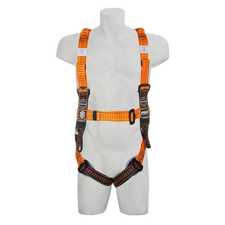 Harness - LinQ Tactician c/w Dorsal D Ring/Front Belay Loops/Rescue Loops/Suspension Trauma Straps - M/L