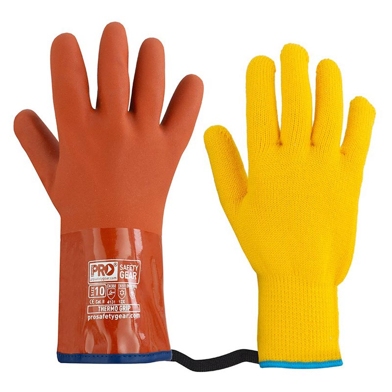 Glove - PVC ProChoice TGP Thermogrip Freezer with Liner - 8